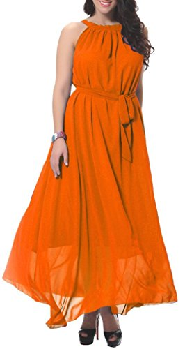 Buy belted midi summer dress - 7