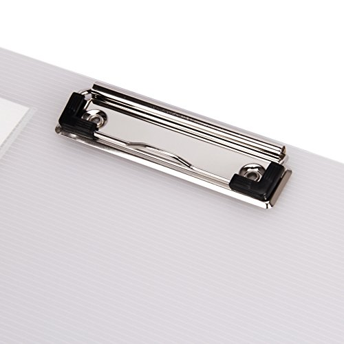 File Folder Clipboard Letter Size Arch File Cover Folder Clipboard Storage with Metal Clip Paper Writing Pad Holder Padfolio Documents Organizer Pad Portfolio Business School Office Conference by Ylucky (Image #3)