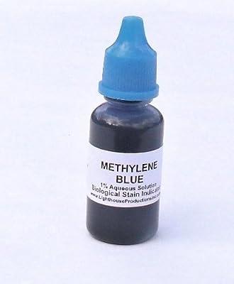 Methylene Blue Microscope Slide Stain Solution Aqueous 1% - 20 ml