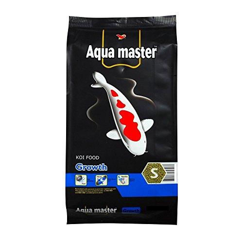 Aqua Master - Aqua Master Growth Fish Food, 22-Pound/Bag, Small