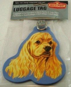 Cocker Spaniel Luggage Tag by Westport Pet - Stores Westport