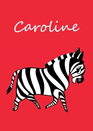 Malbuch / Notizbuch / Tagebuch - Caroline: A4 - blanko