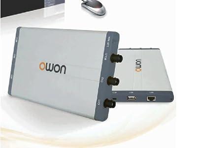 Owon VDS1022I USB Oscilloscope 25 MHz 100MS/s 5K Record Length 2+1 (multi), w/ USB Isolation