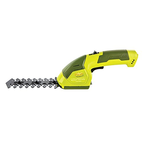 Sun Joe HJ604C Lithium-Ion Cordless Grass Shear/Hedge Trimmer, 7.2V (Cordless Shear)