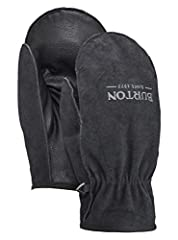 Dial-in your ranch-hand look with the men's Burton Work Horse Leather Mitten. Built in classic workwear leather style, with a quick-drying fleece lining, these mittens are ready to handle any type of labor you can throw at them. A team favori...