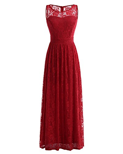 76ec40139b73 Wedtrend Women's Floral Lace Long Bridesmaid Dress Party Gown - Buy Online  in UAE. | Apparel Products in the UAE - See Prices, Reviews and Free  Delivery in ...