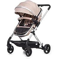 Lightweight & Stylish 2in1 Baby Pram **Bonus Foot Muff, Baby Carry Bag, Rain Cover & Cushion Pad**
