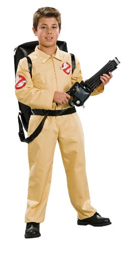 [Child Deluxe Ghostbusters Costume - Large] (Ghost Halloween Costumes For Toddlers)