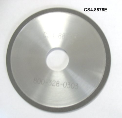 "Super Abrasive CBN 4"" Chainsaw Wheels for 1/4 and .325 Pi..."