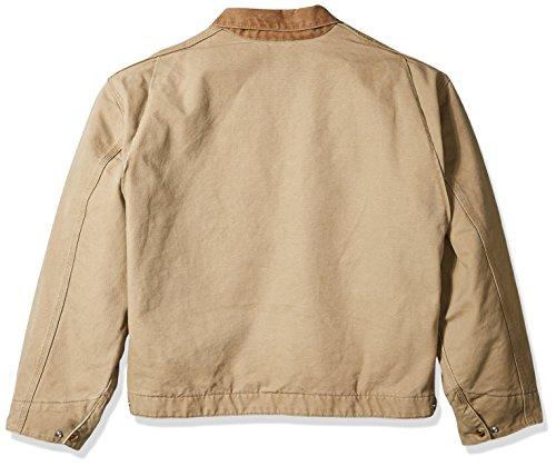 c926efa1f Carhartt Men's Big & Tall Blanket Lined Sandstone Detroit Jacket J97