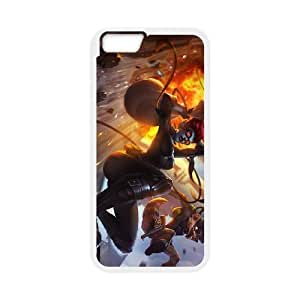 League of Legends(LOL) Evelynn iPhone 6 4.7 Inch Cell Phone Case White 11A078008