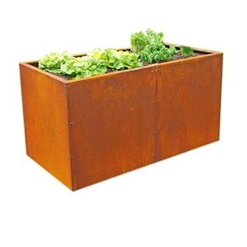Prima Terra Hochbeet Bausatz Edelrost Unique Masse 196x73cm Hohe 78cm