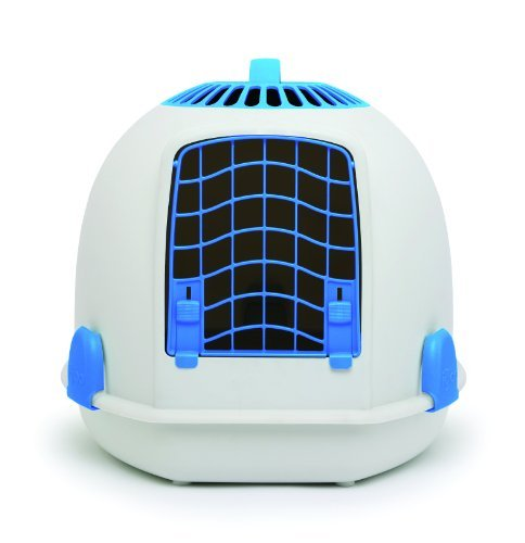 Igloo Pets Ltd 2-in-1 Loo/Carrier, Alaskan - Blue Igloo