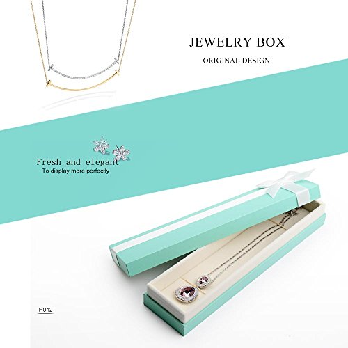 Oirlv Velvet Bow-knot Long chain Necklace Storage Box Jewelry Packaging Gift Box Showcase Display by Oirlv (Image #6)