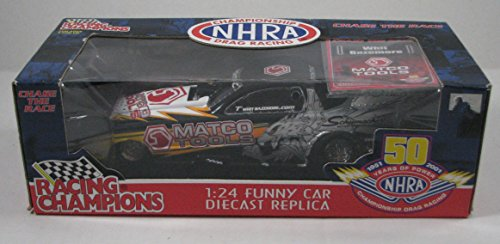 Racing Champions NHRA 1:24 Scale Funny Car Whit Bazemore