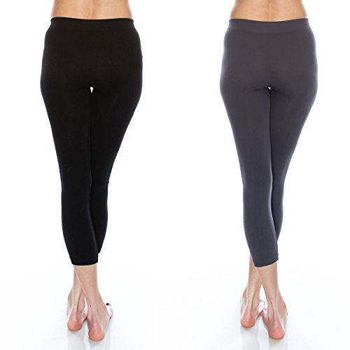 Kurve Premium Seamless Leggings, UV Protective Fabric UPF 50+ (Made with Love in The USA) by Kurve (Image #2)