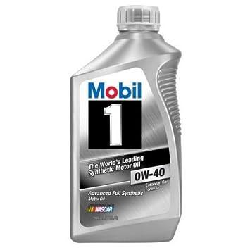Mobil 1 153668 SM 0 W-40 Motor de Gasolina y Diesel Aceite de Motor, 1 L: Amazon.es: Coche y moto