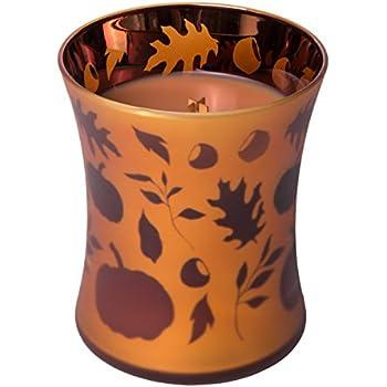 WoodWick Medium Geometric Pumpkin Butter Candle