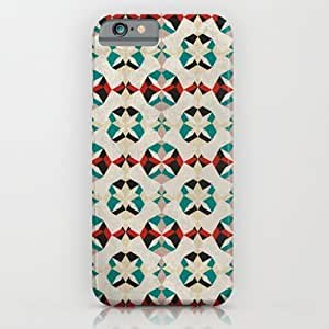 Society6 - Abstract Pattern - Teal & Red iPhone 6 Case by Georgiana Paraschiv