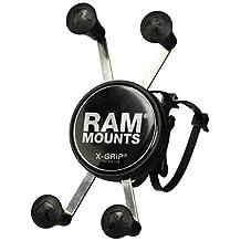 Ram Mount Ram EZ On/Off Handlebar Mount with Universal X-Grip Phone Holder