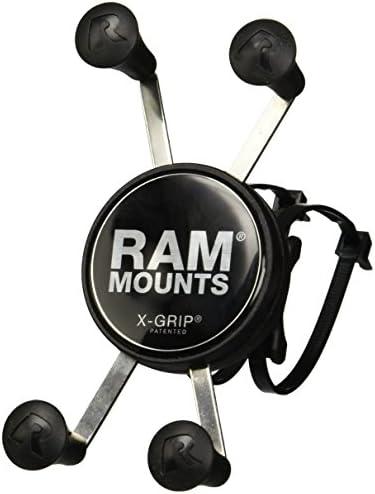 Ram X Grip Handyhalterung Mit Ram Ez On Off Fahrradfuß Elektronik
