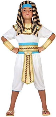 Atosa-23280 Disfraz Egipcio, color dorado, 3 a 4 años (23280 ...