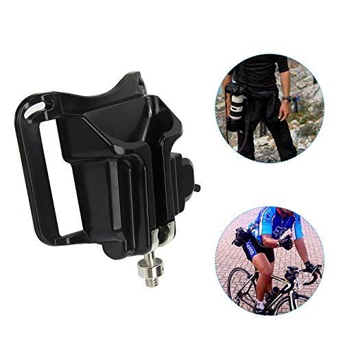 Camera Belt Clip Waist Belt Buckle Button Camera Hanger DSLR Camera Holster Clip for Sony Cannon ()