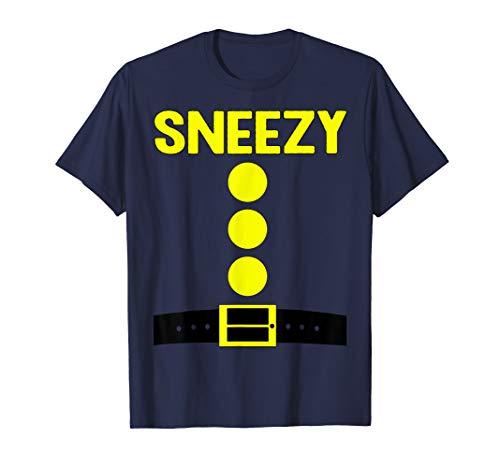 Sneezy Dwarf Halloween Costume Funny Gift Idea