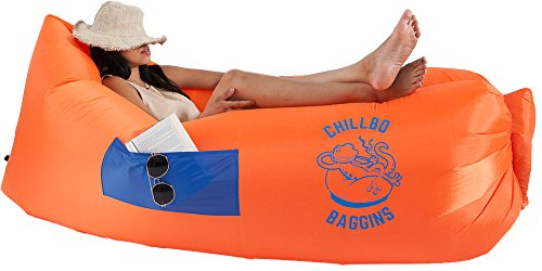 Chillbo Baggins 2 0 Inflatable Lounge Bag Hammock Air Sofa