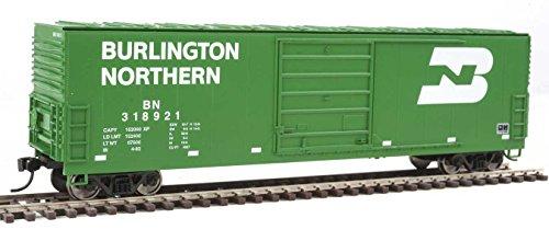 50' Evans Smooth-Side Boxcar - Ready to Run -- Burlington Northern #318921