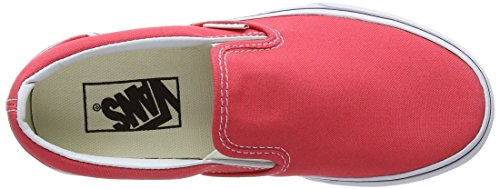 Vans Unisex Adults' U Classic Slip on Red (Cayenne/True White) 5yvLUYCz