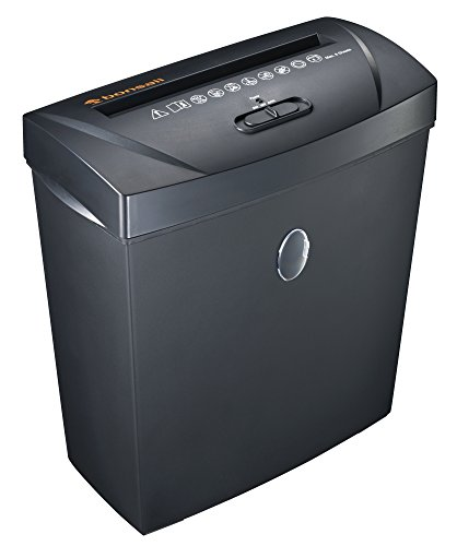Bonsaii C170-A 8-Sheet Cross-Cut Paper Shredder, Overload and Thermal Protection