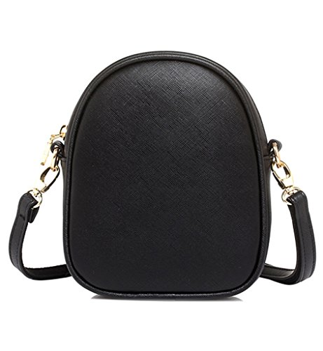 Bag Sleeping Clovers Bag Girls handbag Womens Mini Fox Sling Shoulder Cross Black Cute Tom Body RqwTq