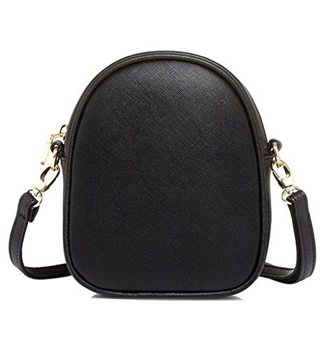 Fox Cross Girls Sling Cute Mini Shoulder Black Womens Sleeping Bag Tom handbag Bag Clovers Body 78xYaZZ