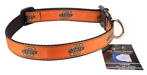 (All Star Dogs Oklahoma State Cowboys Ribbon Dog Collar -)
