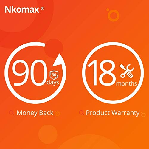 Laptop Camera Cover Nkomax 0.027in Ultra-Thin fits Echo Spot Smartphones Tablets Macbooks Computers Desktops with Strong Adhensive Webcam Cover Slider Protecting Privacy and Securtiy 6 Pack