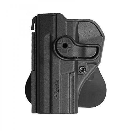 IMI Defense Z1290LH Tactical Retention Left Hand Paddle Roto Holster for Sig Sauer SP2022/SP2009/220/226/227/228/MK25/P226 (railed/non-railed), Combat, P226 Tacops, P226 Legion, Pistol Handgun