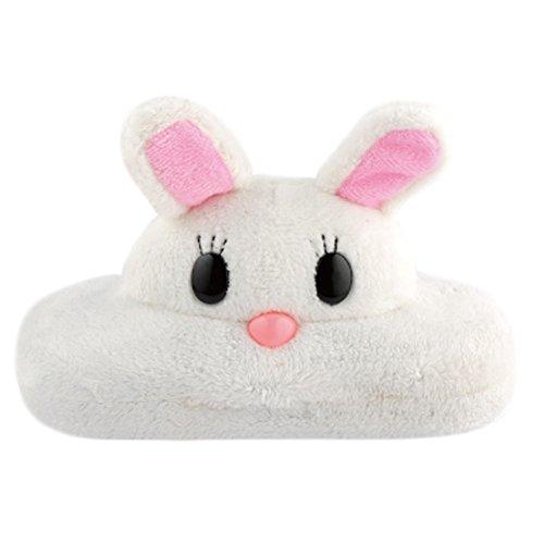 Kylin Express Lovely 3D Creative Cartoon Sunglasses/Eyeglasses Case for Kids (White Rabbit)