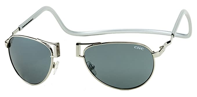 Amazon.com: Clic magnético Aviator metal polarizadas ...