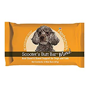 Herbsmith Scooter's Butt Bars - Anal Gland and Bowel Support with Pumpkin Fiber for Dogs- Digestive Aid for Dogs - Dog Fiber Bars 9