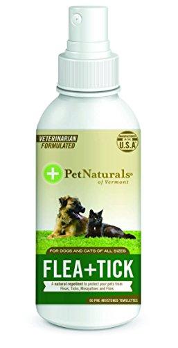 Pet Naturals of Vermont FLEA + TICK Repellent Spray, 8-Ounce