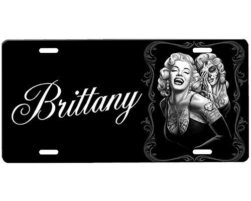 onestopairbrushshop Marilyn Monroe License Plate ()