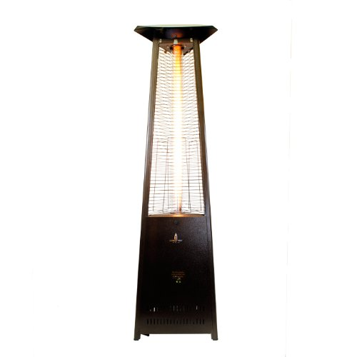 Lava Lite Patio Heater Finish: Heritage Bronze, Type: Propane, Assembly: Assembled