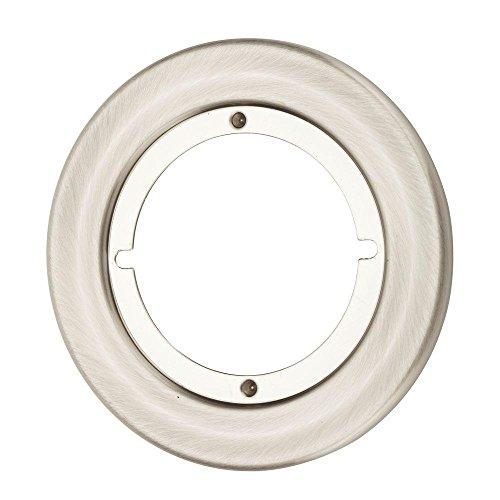 Kwikset 293 15 Cp Rnd Trim Rse 293 Small Round Escutcheon Plate  Satin Nickel