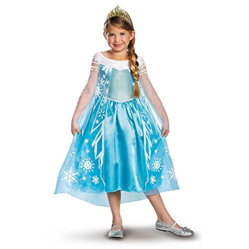 Disney Store Deluxe Child Frozen Elsa Child Costume Medium (7-8)]()