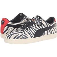 PUMA x Paul Stanley Men's Suede Sneakers (Puma White-Puma Black)