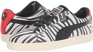 edeb36a7243d PUMA x Paul Stanley Men s Suede Sneakers (Puma White-Puma Black ...