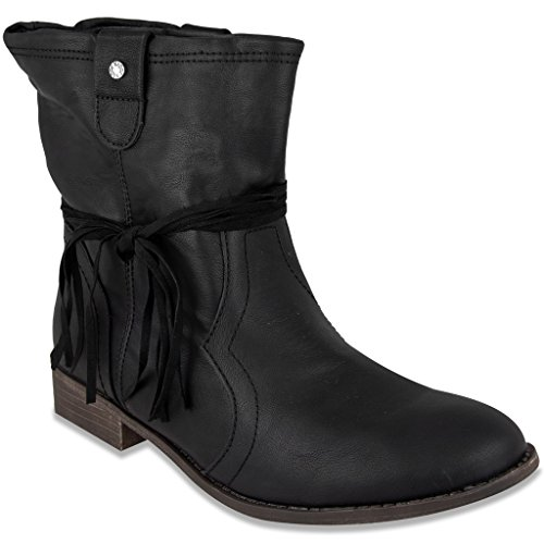 Sugar Womens IMLATE Low Shaft Boot with Fringe