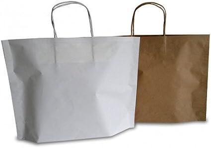 25 pièces Havane b bags sacs cabas en Papier en Poignée