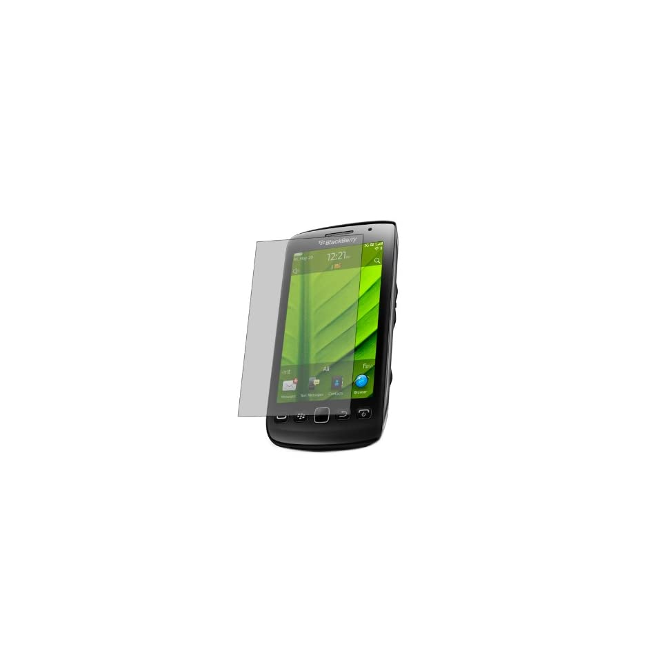 iTALKonline S Protect Anti Glare LCD Screen Protector & Micro Fibre Cleaning Cloth   BlackBerry 9860 Torch